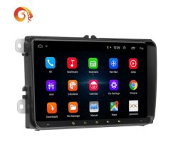 2 DIN Car Player GPS Navigation مع Wi-Fi® AM/FM Mirror Link Universal Android Player 9.1 System 9 بوصة