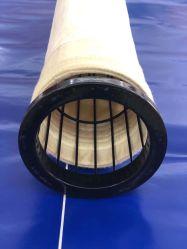 Filtri a sacco industriali della polvere del tessuto del feltro di filtrazione di Aramid