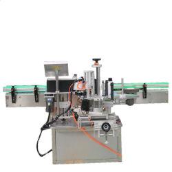 Tipo linear simples e dupla rotulagem Adesiva lateral da máquina para frascos quadrados redondos de vidro para a linha de produção de bebidas