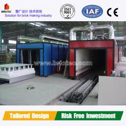 Macchina a blocchi per la produzione di blocchi cavi macchine per muratura tunnel forno piccolo Business mattone