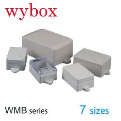 76가지 크기의 벽 장착형 데이터 인클로저 박스 실외 IP66 ABS 이어방수 플랜지 케이스가 있는 플라스틱 전자 정션 박스