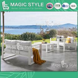 Sofà cinese stabilito di svago del sofà della mobilia del nuovo di disegno del sofà del patio del sofà del giardino del sofà dell'hotel di progetto sofà esterno di alluminio di combinazione