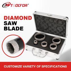 5 PCS gesoldeerde diamant gat zag Diamond Core boor bit Instellen