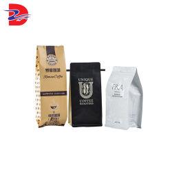 세륨은 박판으로 만들어진 물자 Kraft 식품 포장 종이 플라스틱 차 1회분의 커피 봉지를 증명했다