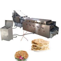 상업용 완전 자동식 아라비아식 피타 빵 머신 로티 채프티 메이커 기계 옥수수 토르티야 칩 생산 라인