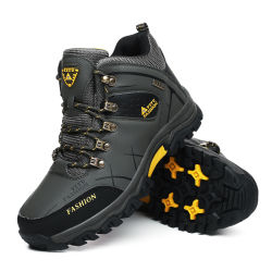 Zapatos deportivos zapatos de montaña caliente al aire libre de ocio Senderismo Cross-Country ejecutando cómodo impermeable Antiski