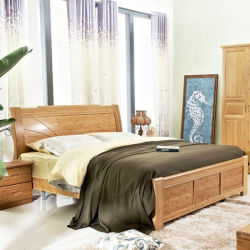 Bamboo Bed moderna ecologica del re Size Carbonized