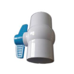 بالنسبة لحمامات السباحة، مشاريع برك كوى للتحكم اليدوي صمام الكرة PVC الطلاقة