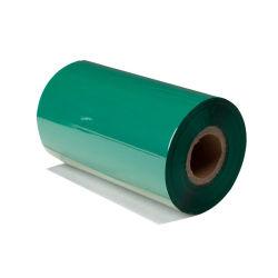 녹색 수지 색깔 리본을 인쇄하는 열전달 레이블 Barcode 인쇄 기계