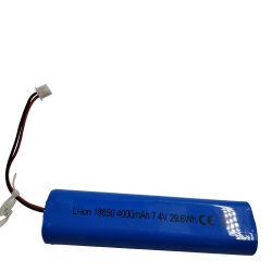 Conjunto de bateria recarregável 18650 Li-ion Célula de Bateria 4000mAh