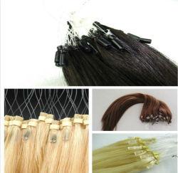 Bucle fácil 1g Micro brasileño Cordón Hair Extension