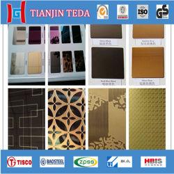 Корпус из нержавеющей стали с титановым покрытием цветные листы/Пластины