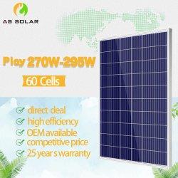 Rosen Poly Photovvoltaique Power Energy 12V 270 W pannello solare 170 W. Prezzo all'ingrosso