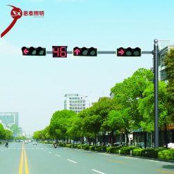 LED de 220V tráfego integrado torres de iluminação com lâmpadas Temporizador de contagem decrescente