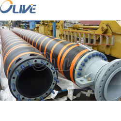 Tubo flessibile di galleggiamento del galleggiante di prezzi del tubo flessibile del tubo della draga dell'acqua di gomma ad alta pressione industriale