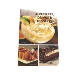 하드커버 바인딩 고품질 호텔 A4 종이 레스토랑 메뉴 커버