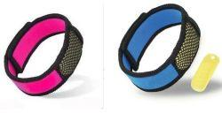 Justierbarer Anti-Moskito Wristband mit Zitronengras-Nachfüllung
