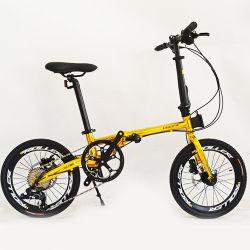 2020 특별한 제의 탄소 강철 프레임 작은 바퀴 소형 매우 가벼운 휴대용 접히는 자전거를 가진 16 인치 접히는 자전거