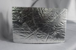Nueva generación de lámina de aluminio plateado flexible de goma de aislamiento acústico