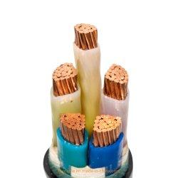 XLPE ПВХ кабеля электропитания для передачи мощности на заводе прямых