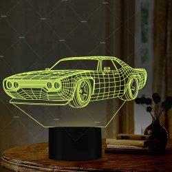 De Punten van de Gift van de nieuwe 3D LEIDENE van de Ideeën van het Product Auto van de Schemerlamp