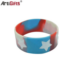 La mode personnalisé bracelet en tissu de polyester à rendre l'identification