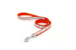 China Fábrica atacado o logotipo personalizado Pet reflexivo Dog Training Dog leash