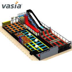 Коммерческие прыжок батут производитель бизнес-план воздуха внутри помещений для детей батут парк для продажи