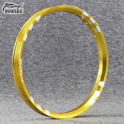 Borske personalizzato Golden Wm Mt U alluminio Moto Rim Off Cerchi ruote Rode 16 X1.4 pollici