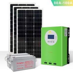太陽電池 100A オフグリッド高効率充電コントローラ