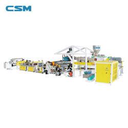 PP PS 熱成形シート押出機自動高出力プラスチック シート押し出し直線( Sheet Extrusion Line