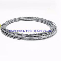 多機能の電流を通された鋼線ロープによって電流を通されるワイヤー