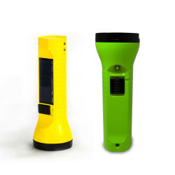 Mini-Lanterna UV solar com painel solar