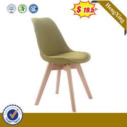 Assento do amor de madeira moderna sala de estar sofá de couro Hx-9DN165