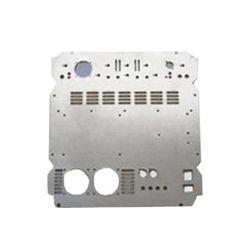 Peças de chapa metálica personalizada estampagem, Gabinete de alumínio/Tampa/Placa para computador/produtos/máquinas da indústria electrónica