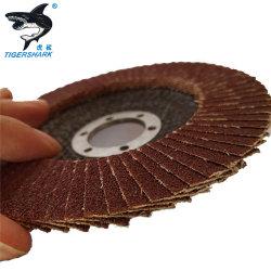 4 pulgadas de fibra de abrasivos Disco de la trampilla de lijado de metal