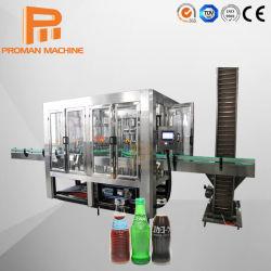 3 en 1 boisson gazeuse de remplissage entièrement automatique de traitement de ligne de production / bouteille de jus d'eau à petite échelle de l'embouteillage de boissons gazeuses Prix de la machine