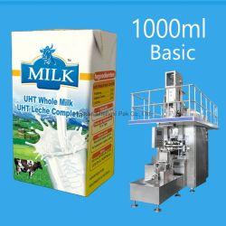 1000 мл основных асептической картонной упаковки и наливной горловины топливного бака машины заполнения УНТ молоко сок