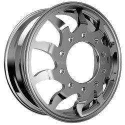 22.5*9,0 pouces en alliage en aluminium forgé Chariot de jantes de roues /Voiture