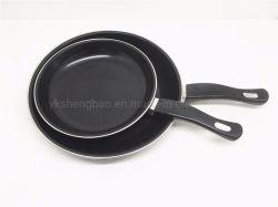 De grote Pan van het Gebraden gerecht van het Keukengerei van het Koolstofstaal van de Uitvoer van de Hoeveelheid Kokende (FP)