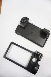 電子デバイスのためのカスタマイズされたPA PP PVC注入の黒のプラスチック製品