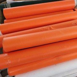 Het uitstekende kwaliteit Geweven pvc Met een laag bedekte Geteerde zeildoek van /PVC van de Stof voor Vervoer van het Gordijn en van de Software van de Vrachtwagen het Zij