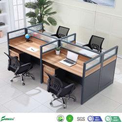 De houten Werkstations van het Bureau van het Bureau van de Verdeling van de Lijst van het Meubilair Moderne Bevindende Modulaire