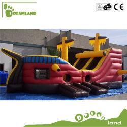 Piscine gonflable géant gonflable Commercial château gonflable avec toboggan IDD002