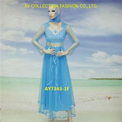 Afrique de l'ay Fashion Fabricants Mesdames Nouveau design Partie longue robe de soirée