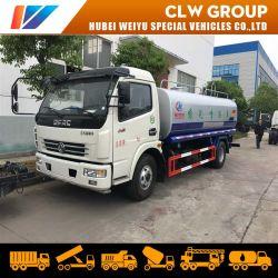 Het Vervoer van het Drinkwater van de Tankwagen van het Water van de Vrachtwagen van de Sproeier van het Water van Dongfeng 6000liters 6ton