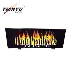 展覧会の表示のための便利な展示会のライトボックスの立場中国製
