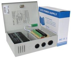4CH 27.6V60W UPScctv-Stromversorgungen-Kasten mit Ladegerät