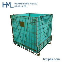 Китай Гальванизированные Складывая Складные Клетки Хранения Провода Металла Preform Любимчика