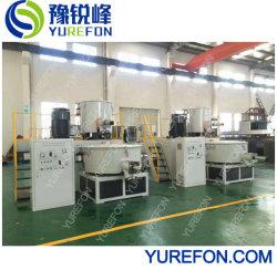 Refrigeración calefacción de alta velocidad vertical mezclador para producción de paneles de techo de PVC